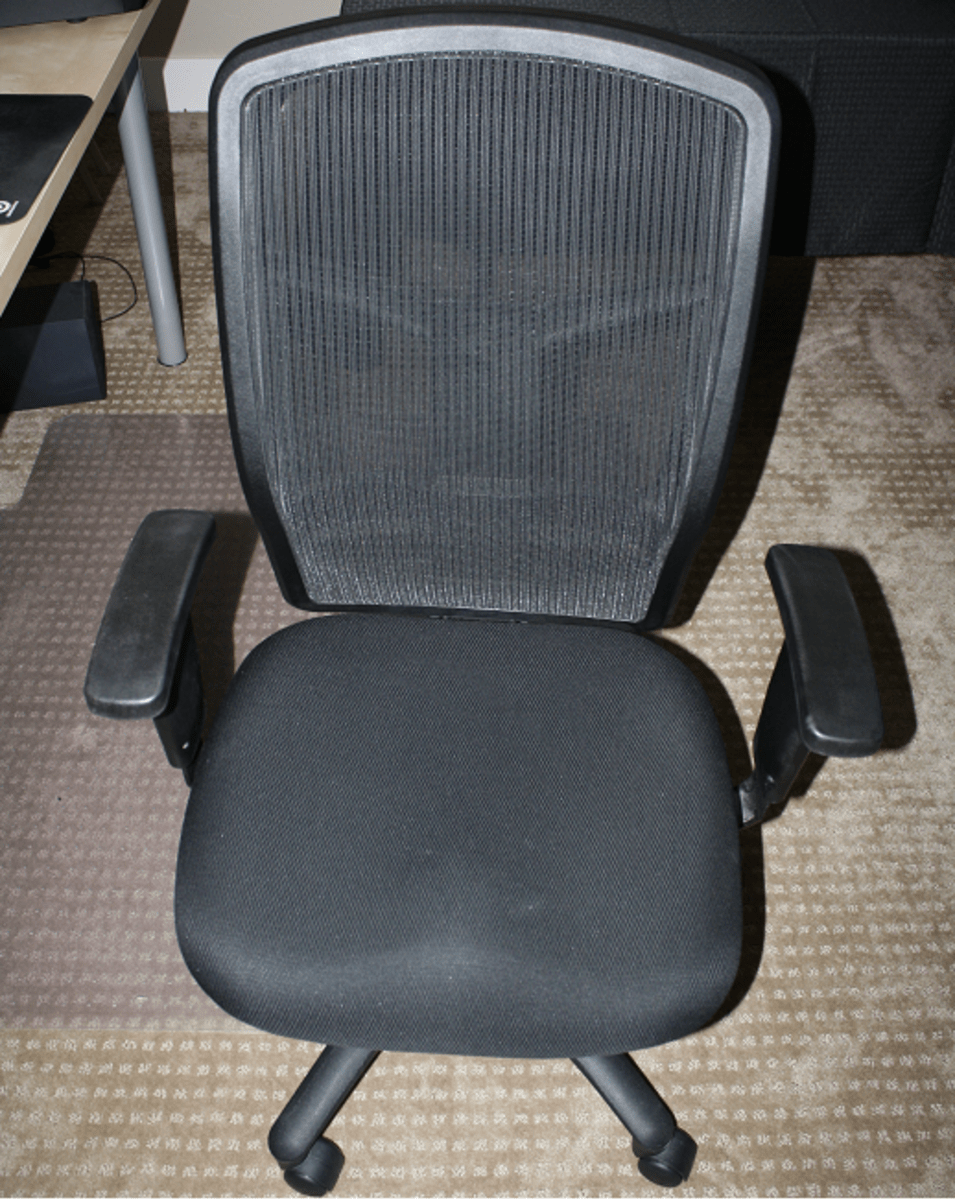office chair alternatives small table with 2 chairs for kitchen 5 budget aeron ergonomic 2018 hubpages after over a year of use the lorell executive high back still looks and feels