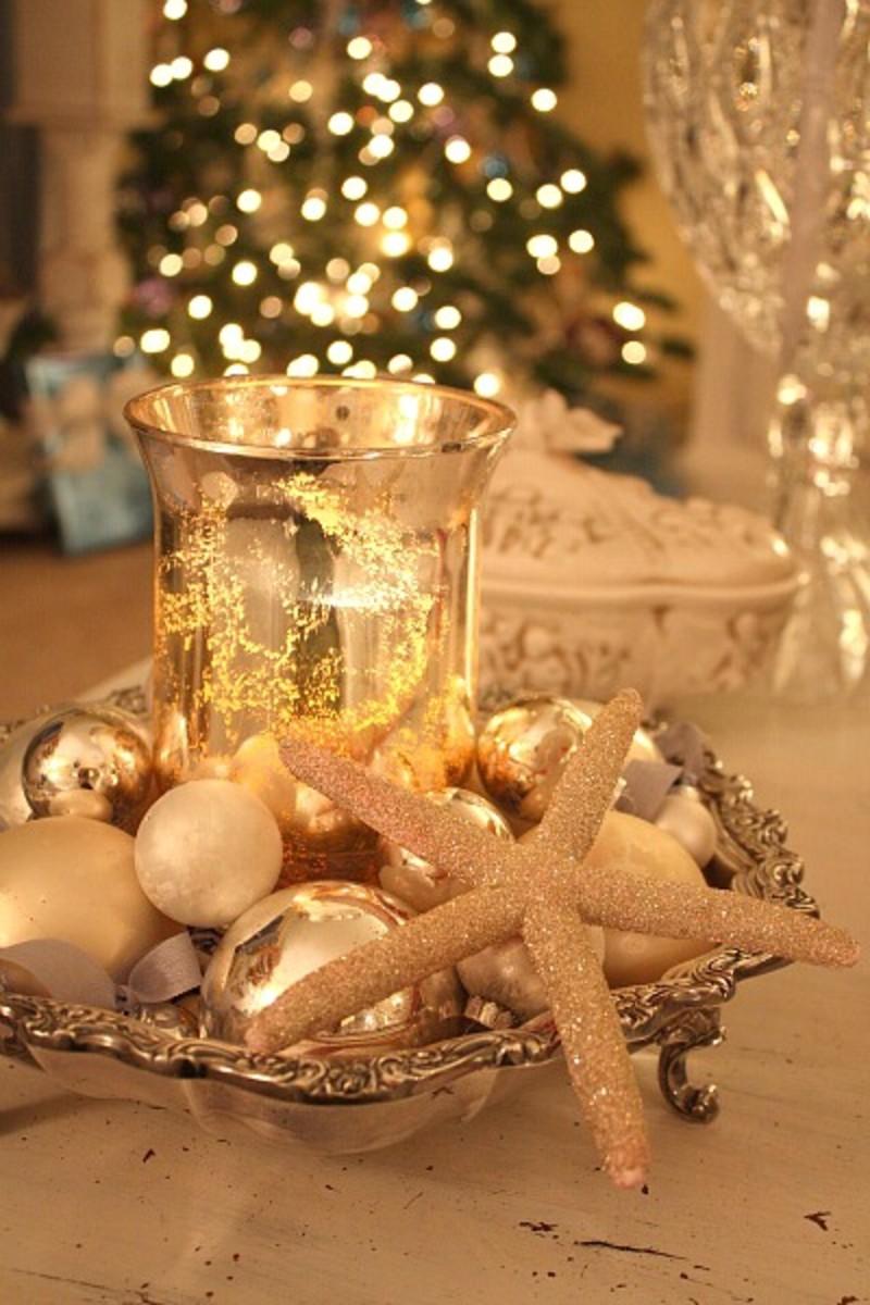 White Seashell Coastal Christmas Dcor HubPages