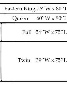 Bed sizing chart king california queen full xl also vs mattress size dengarden rh