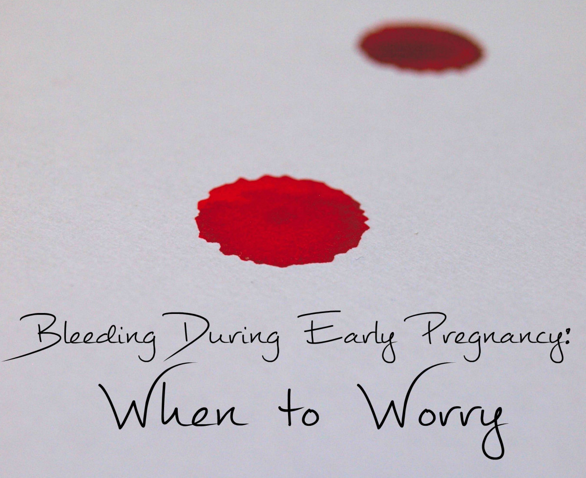 Bleeding or Spotting in Early Pregnancy Should I Be