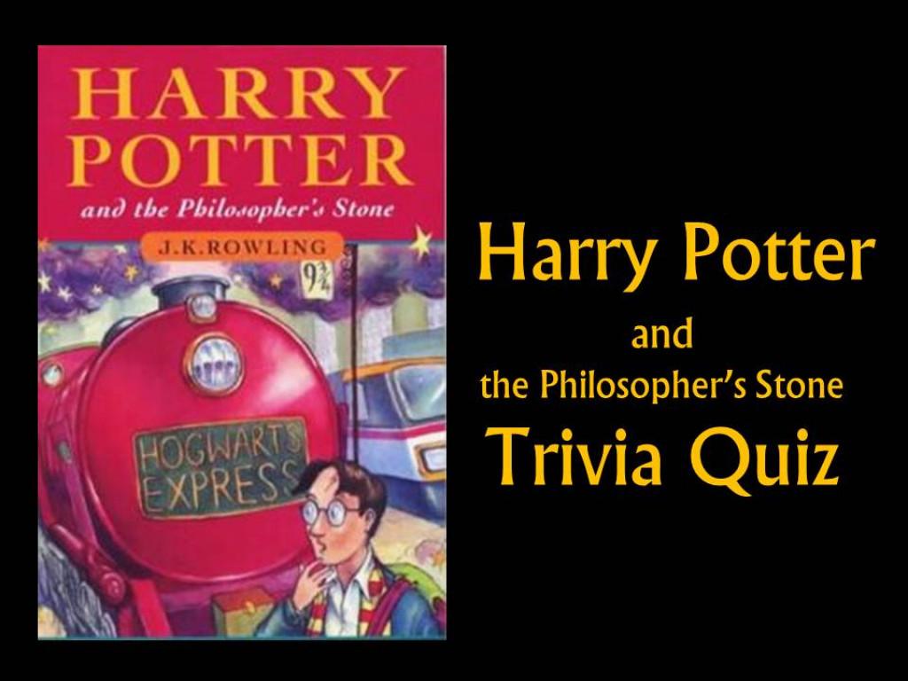 Harry Potter And The Philosopher S Stone Quiz Trivia Quiz