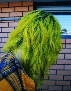 Diy hair green color ideas also bellatory rh