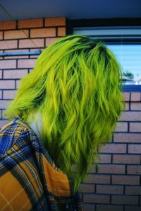 DIY Hair: 10 Green Hair Color Ideas