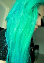 neon hair color ideas and