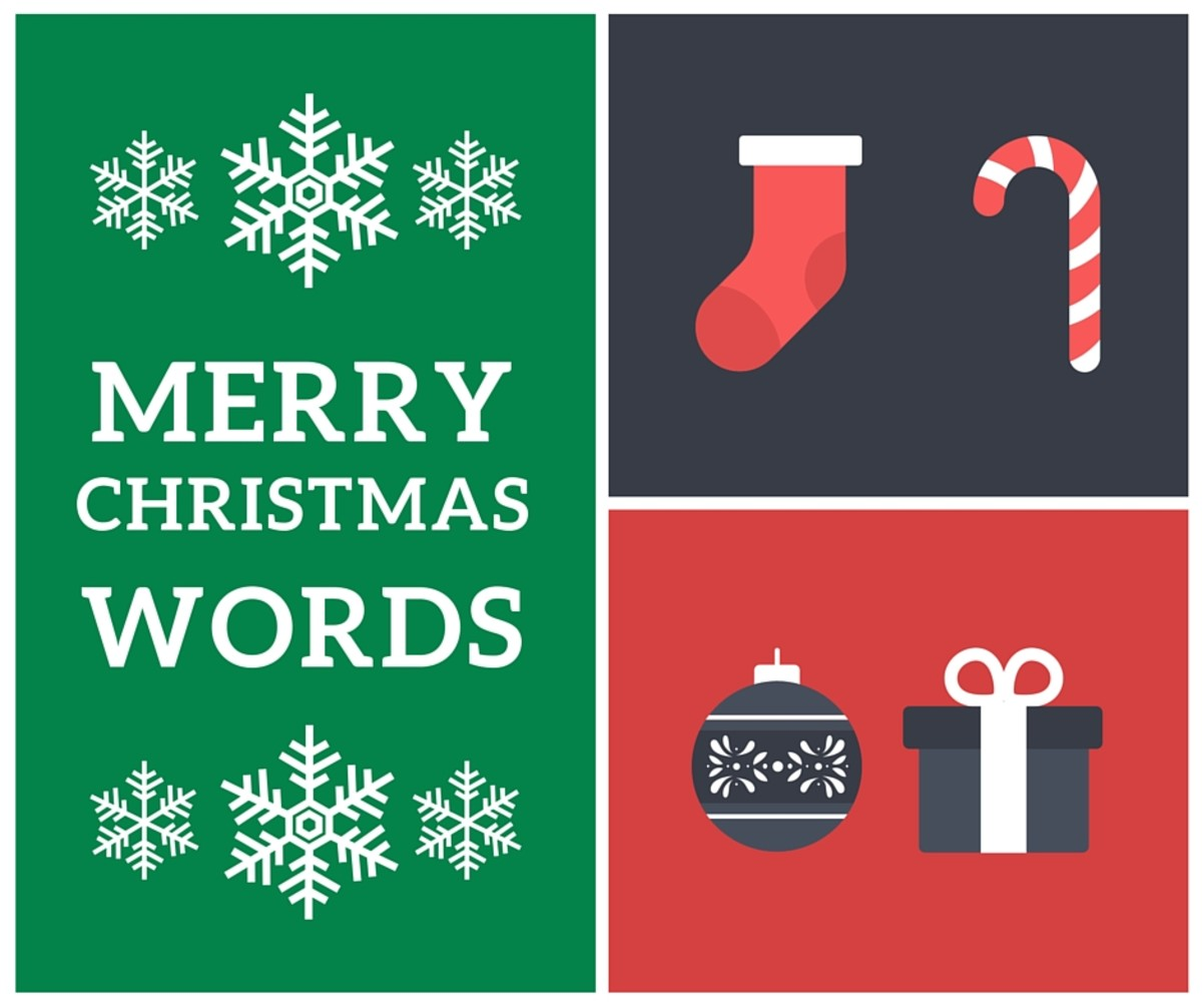 111 Merry Christmas Words For Charades And Other Word