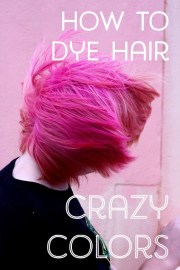 dye hair crazy colors