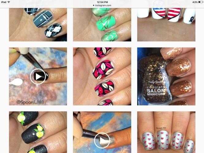 Fan Brush Striped Nail Art Tutorial Nails Polish