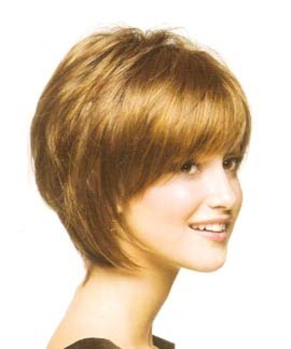 haircuts short layered hair