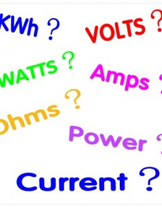 guide to understanding watts amps and volts also kilowatt hours kwh electrical appliances rh dengarden
