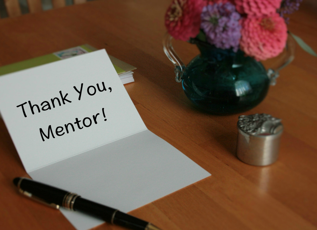 Thank You Message For A MentorSamples Of What To Write In