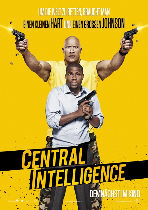 Central Intelligence is a WhipSmart Buddy Comedy That
