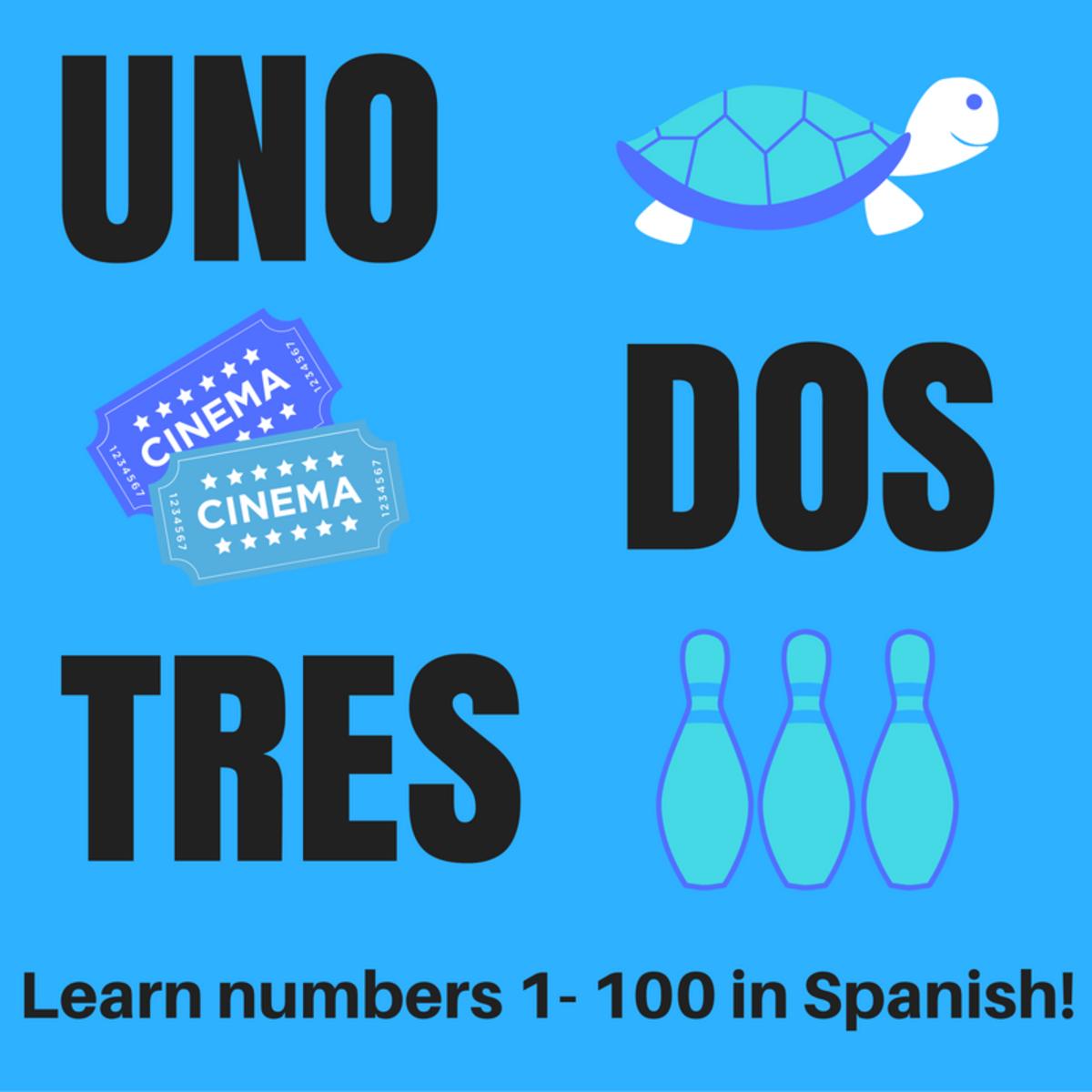 Learn Spanish Numbers 1 100