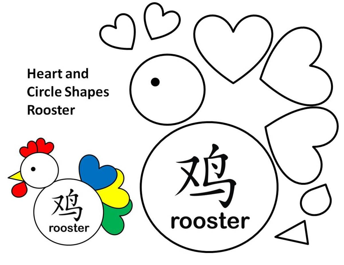 Printable Rooster Templates: Kid Crafts for Chinese New