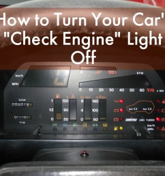 how to get rid of the check engine light [ 1024 x 768 Pixel ]