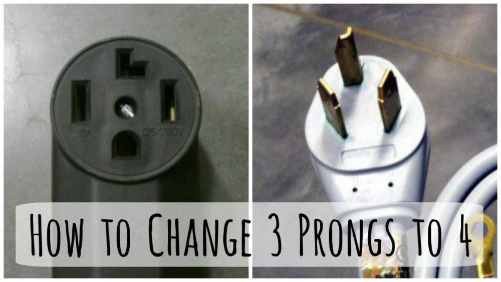 medium resolution of changing a 3 prong dryer plug and cord to a to 4 prong cord dengarden 230v dryer plug wiring
