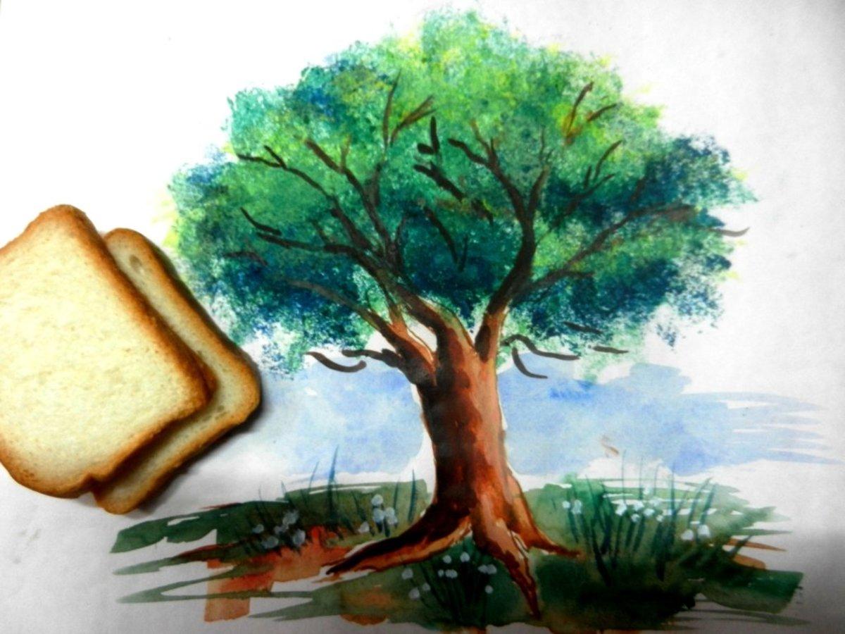 easy bread slice trick