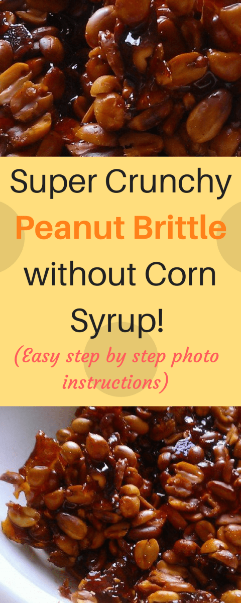 Easy Peanut Brittle Recipe Without Candy Thermometer or