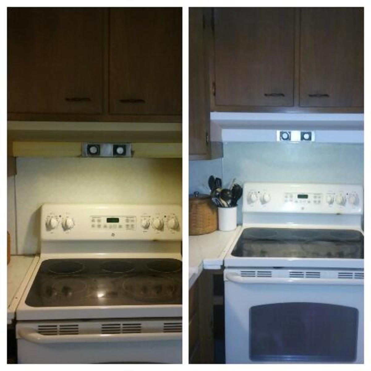 Kitchen Countertops And After