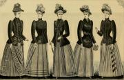 women's fashions of 1890s