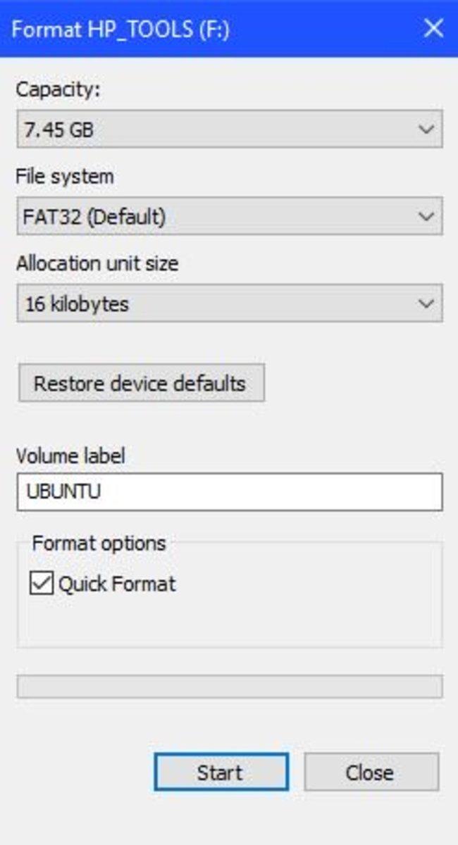 How to Create a Bootable USB Ubuntu Installer in Windows