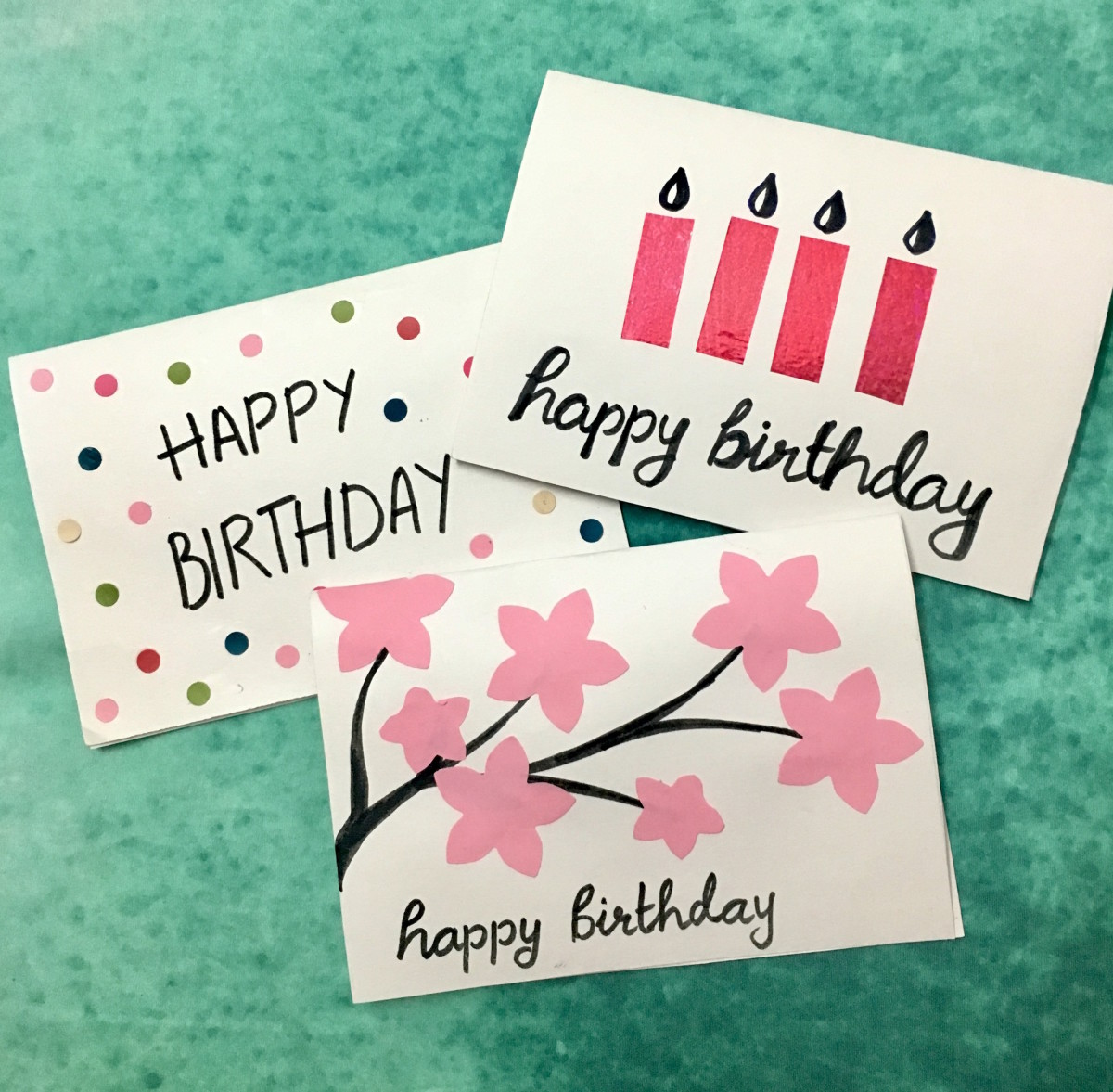 3 Easy, 5minute, Diy Birthday Greeting Cards  Holidappy