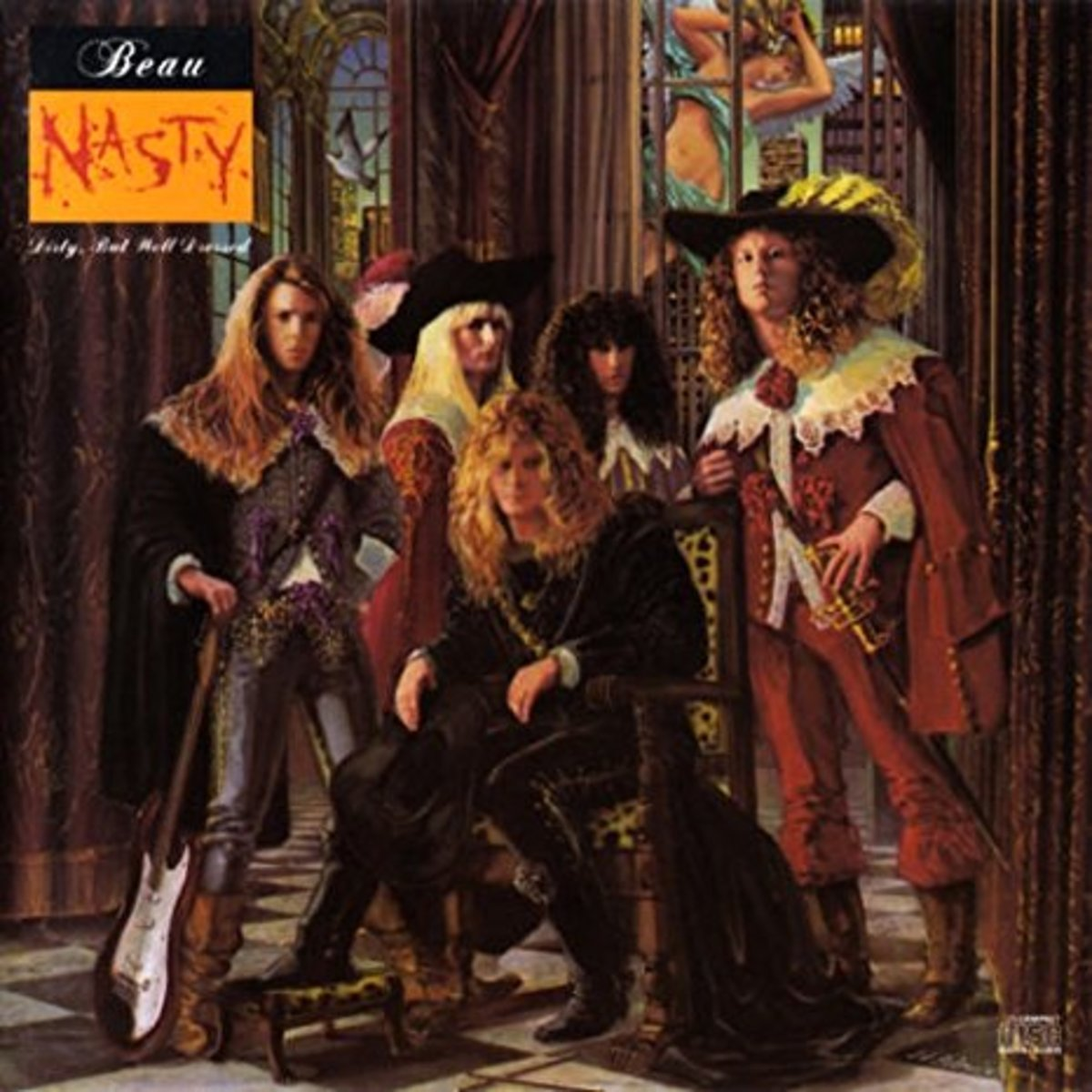 Forgotten Hard Rock Albums Beau Nasty Dirty but Well Dressed 1989  Spinditty