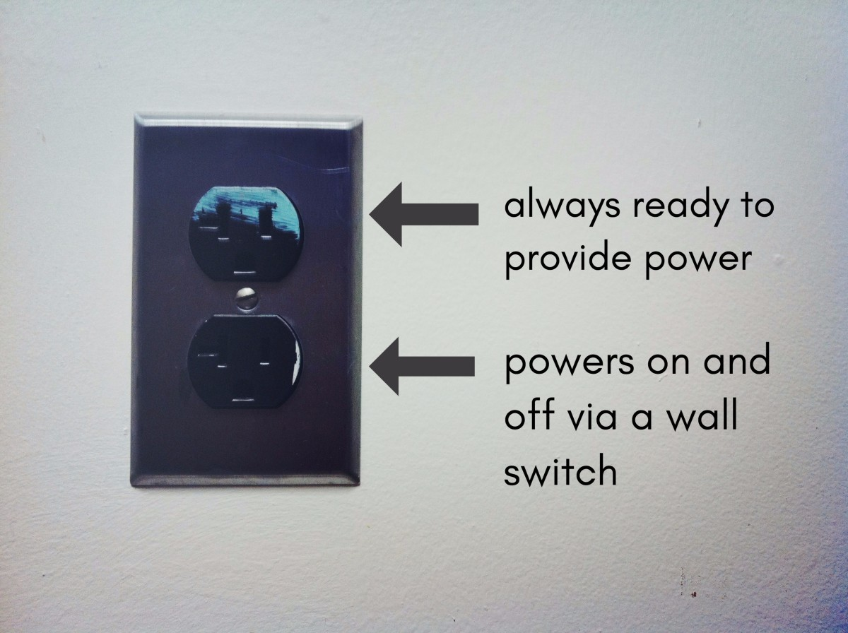 Wiring Switched Outlet Power Receptacle