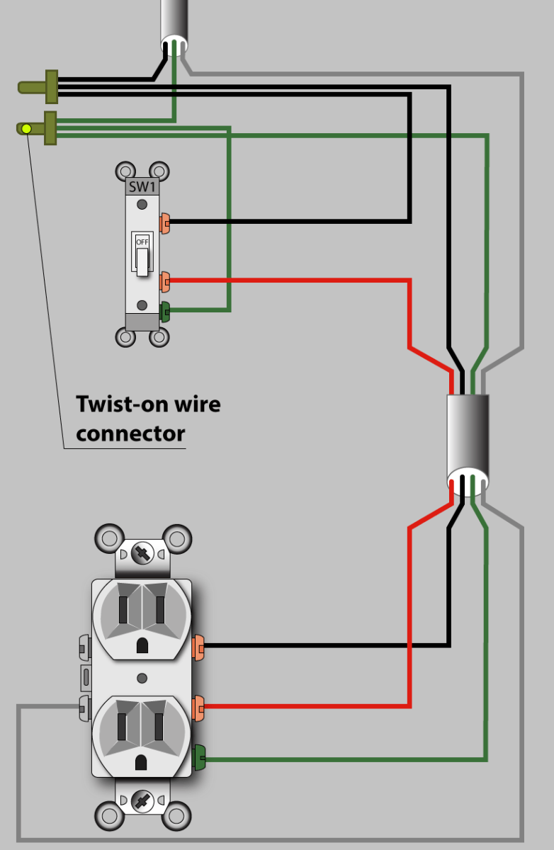Multiple Lights One Switch Diagram