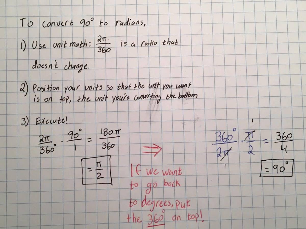 Trigonometry The Unit Circle In Plain English