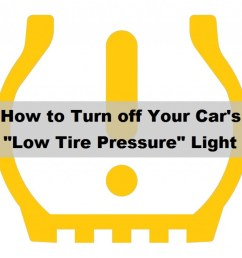 how to reset a stuck low tire pressure tpms light [ 1024 x 866 Pixel ]
