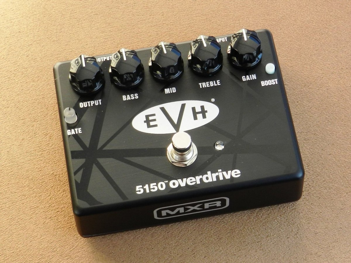 hight resolution of  mxr evh 5150 overdrive pedal review spinditty evh iii footswitch wiring diagram on 5150 iii