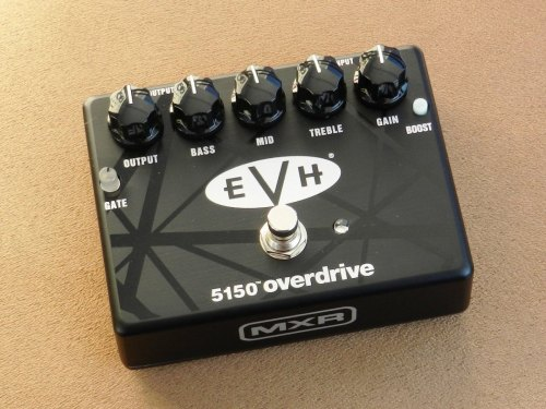 small resolution of  mxr evh 5150 overdrive pedal review spinditty evh iii footswitch wiring diagram on 5150 iii
