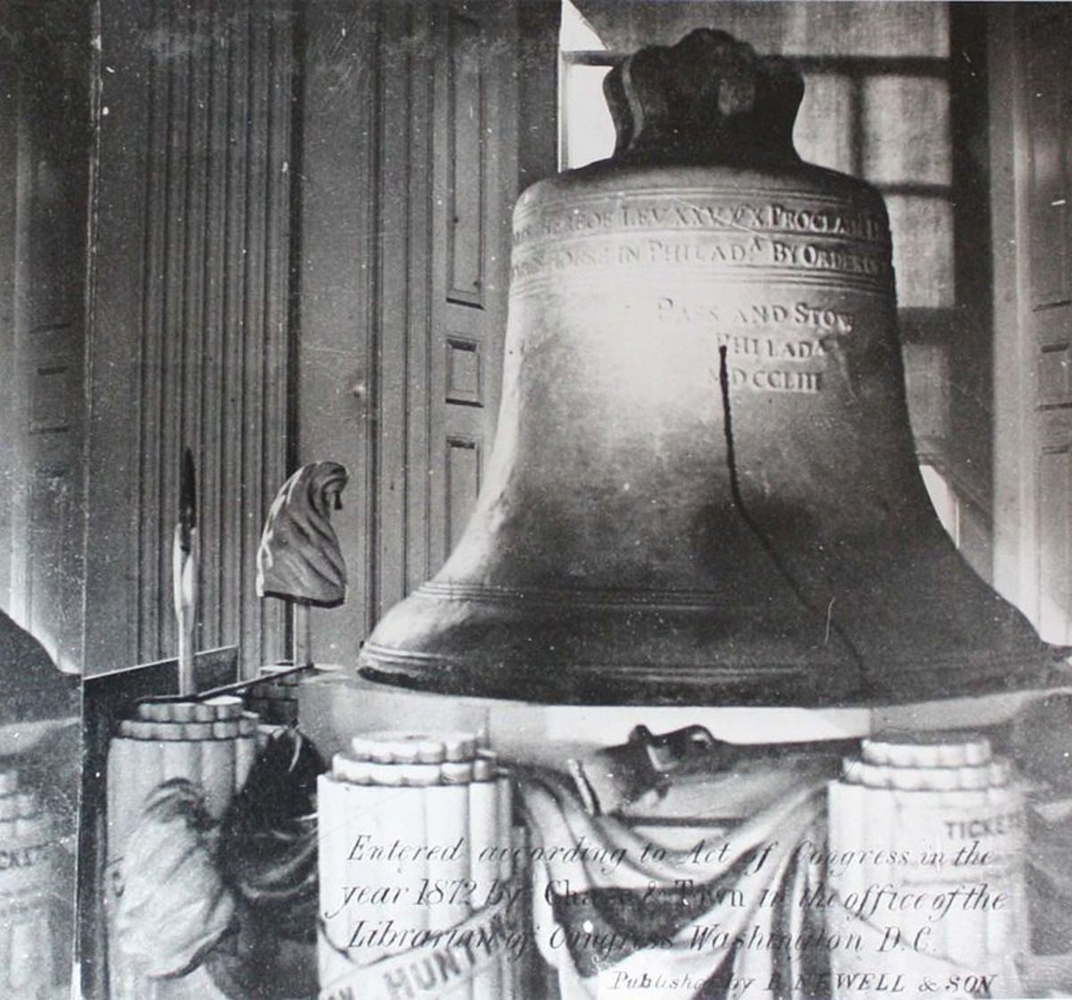 The Liberty Bell International Symbol Of Freedom