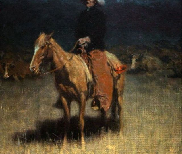 Cowpunchers Lullaby By Frederick Remington