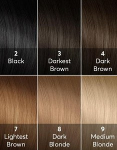 High lift hair dyes should be used only if your natural color is on the bottom also diy guide bellatory rh