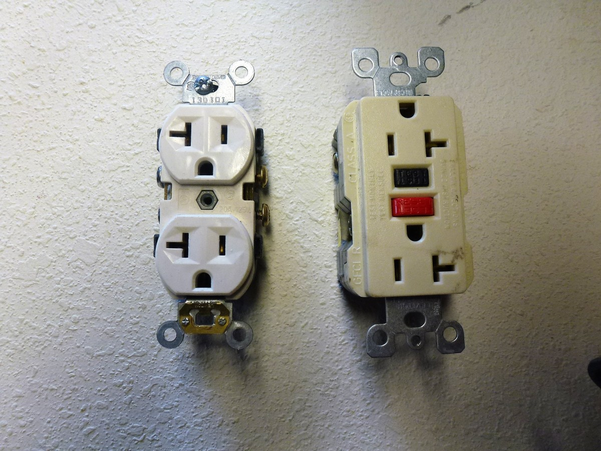 double outlet wiring diagram 1970 chevy c10 how to install an rv at home axleaddict a regular the white one will not be acceptable ivory on