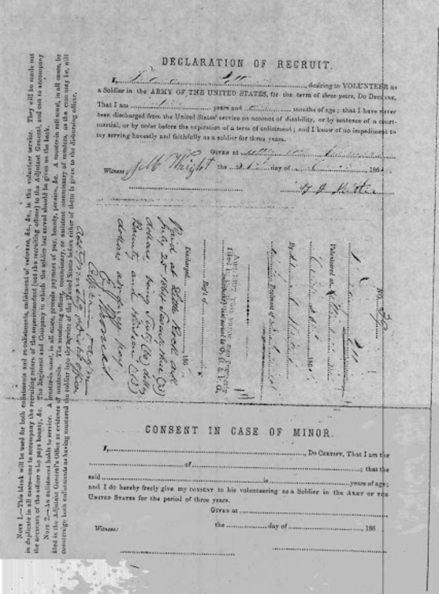 American Civil War Life: Filling The Ranks