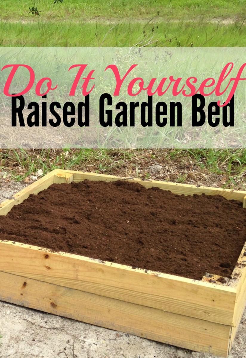 How To Build A Raised Garden Bed Dengarden