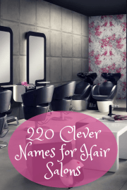 clever and fun names hair