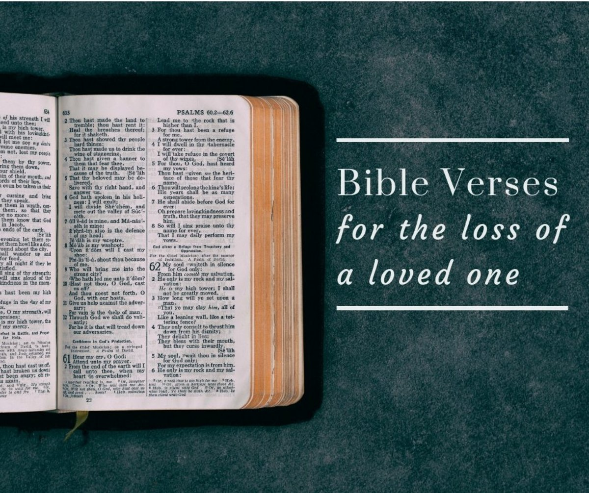20 Bible Verses For Those Who Have Lost A Loved One