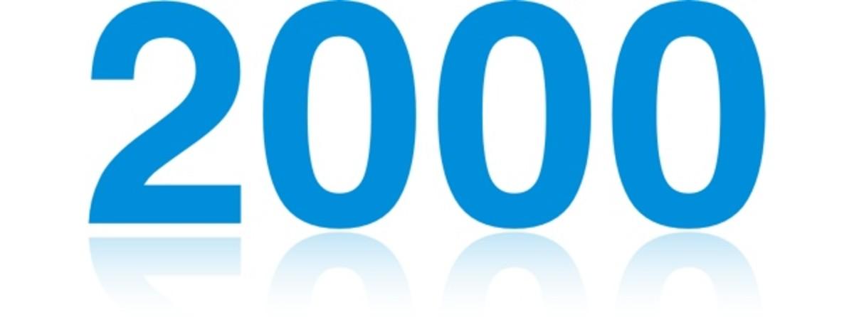 2000 fun facts trivia