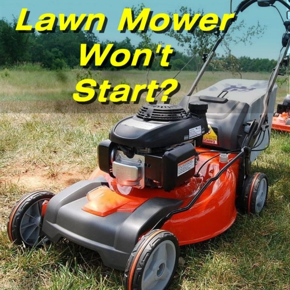 medium resolution of how to fix a lawn mower that won t start