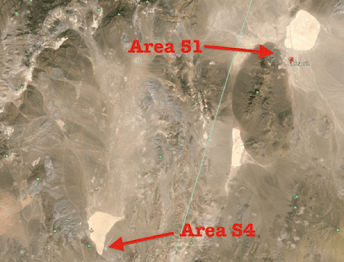 Is Area 51 A Military Ruse