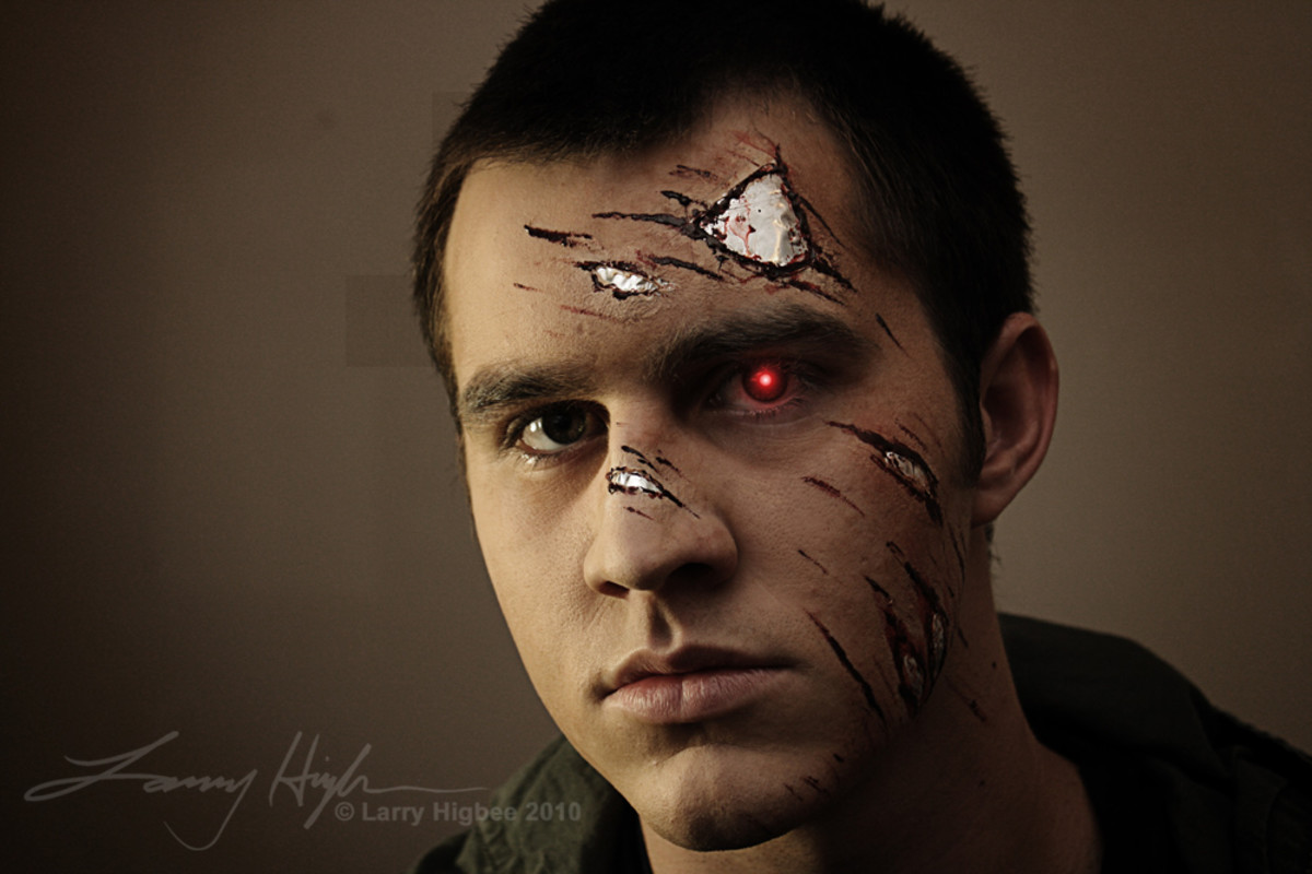 Simple Terminator Makeup Tutorial Hubpages