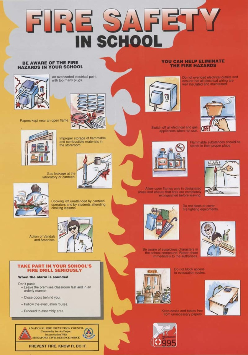 School Fire Safety Measures Keep Your Kids Safe In School