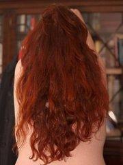 henna hair - told