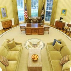 Oval Office Chair Lumbar Support For The Obama Makeover And Decor In White House Soapboxie