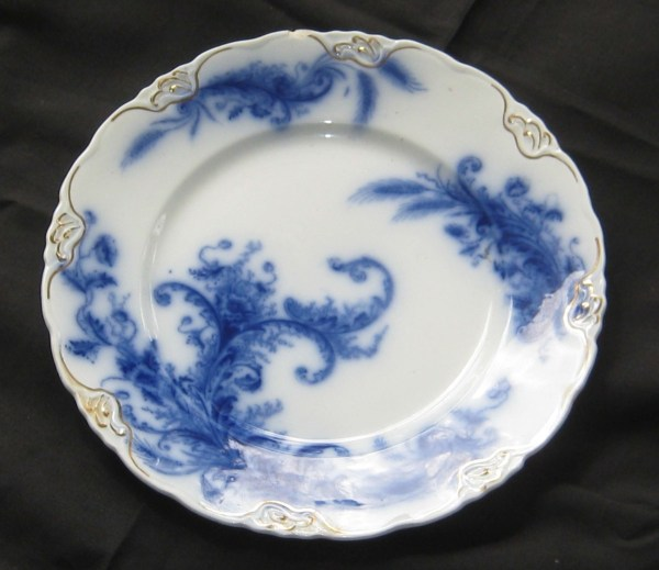 Flow Blue History And Of Blue-and-white Antique