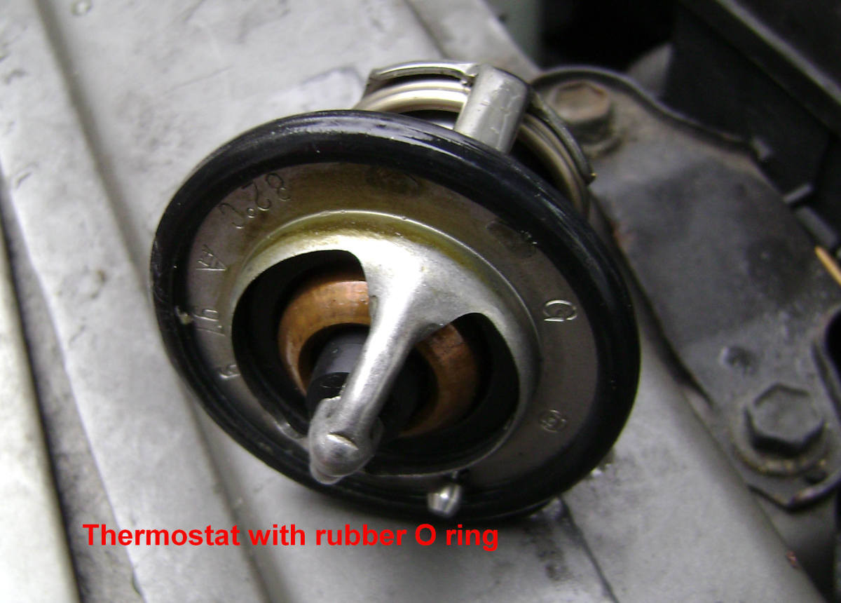 2000 Toyota Camry Thermostat Location