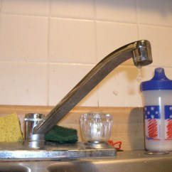 How To Repair Kitchen Faucet Appliences Fix A Leaky